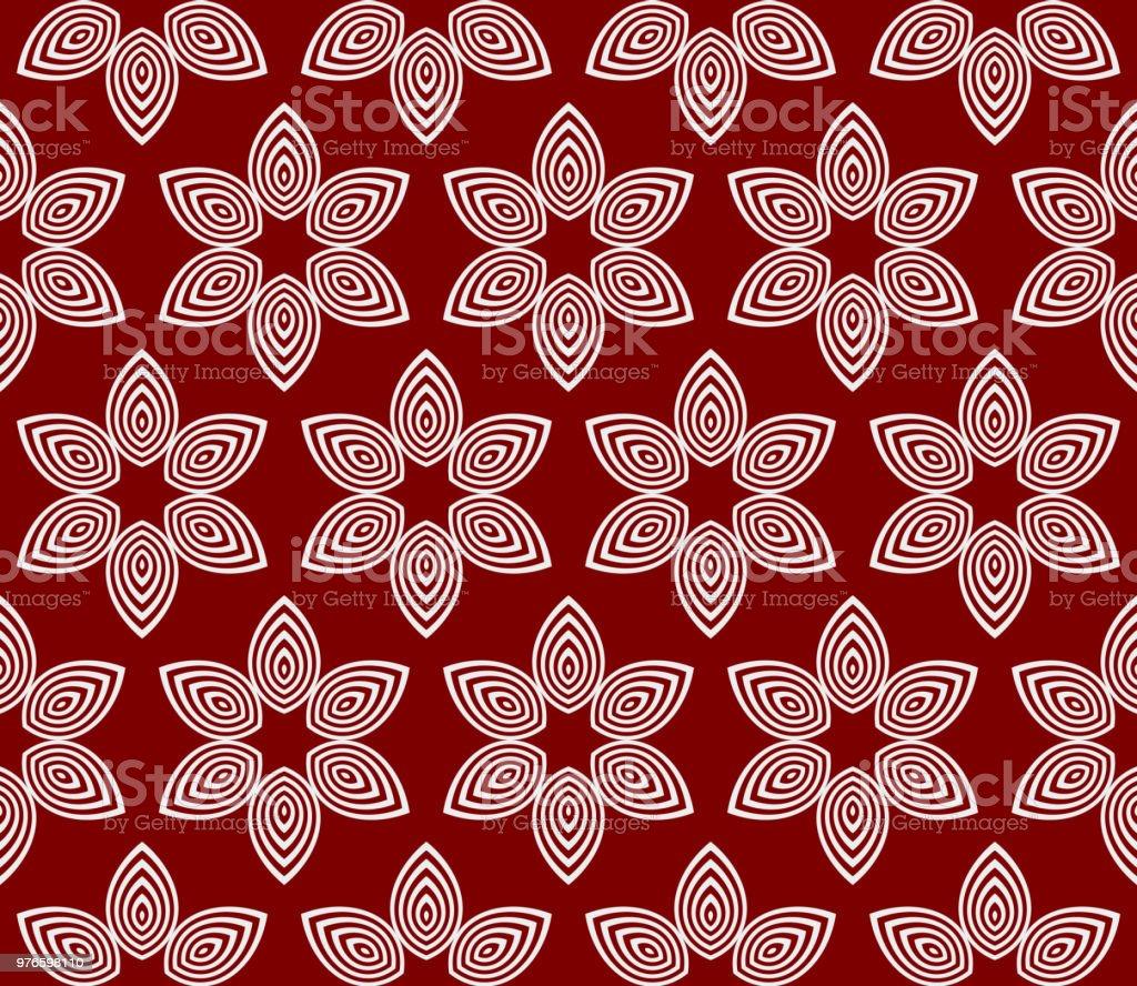 Seamless Floral Pattern Vector Illustration For Design Invitation