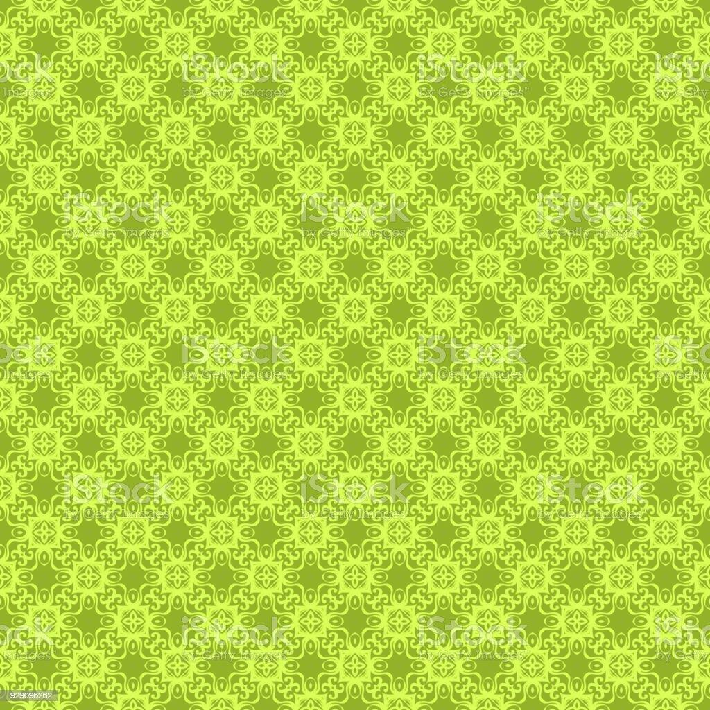 motif floral sans soudure. illustration vectorielle. texture de fond d'écran design, motifs de remplissage, tissu. couleur olive - Illustration vectorielle