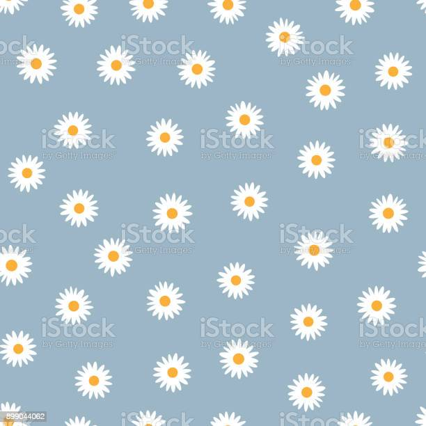 Seamless floral pattern white daisies on a blue background vector id899044062?b=1&k=6&m=899044062&s=612x612&h=e67ga3wdx7xw wmx4rexqkl7hni6dsff4rhlkzbyqie=