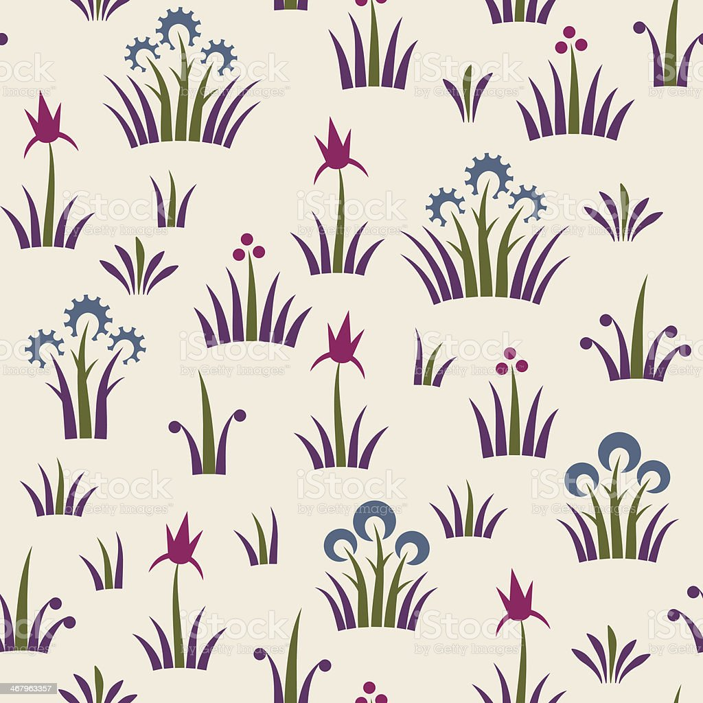 Seamless floral retro pattern of classic style royalty-free seamless floral retro pattern of classic style stock vector art & more images of 1960-1969