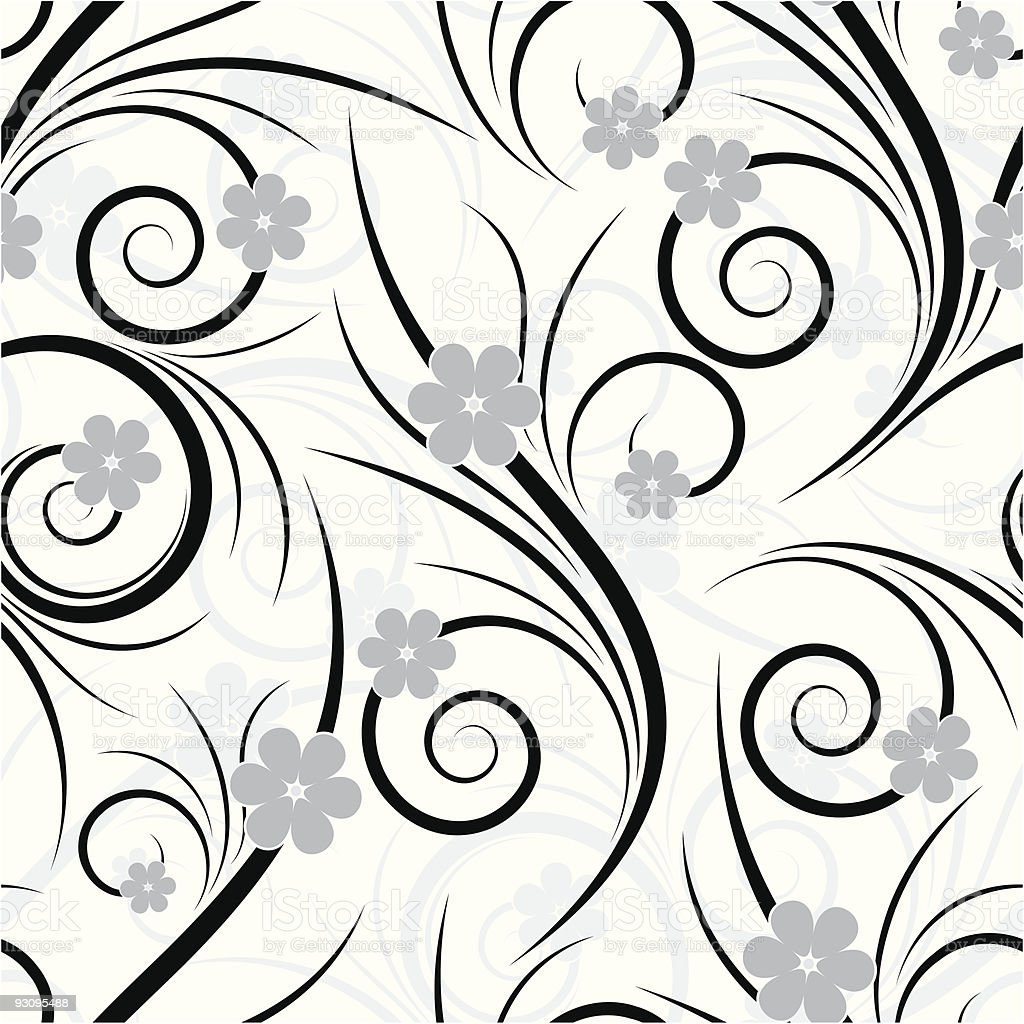 Seamless floral royalty-free seamless floral stock vector art & more images of abstract