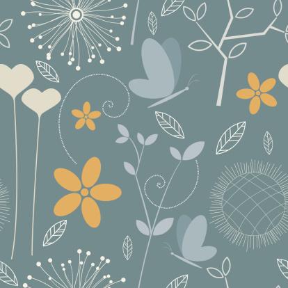 seamless floral wallpaper