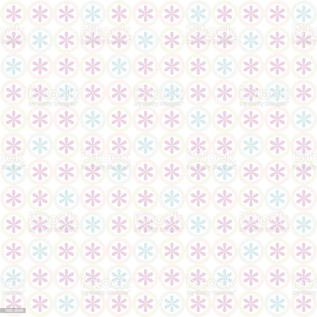 Seamless Flower Background  ( Vector ) vector art illustration