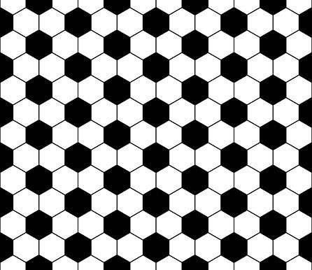 Seamless football pattern, vector