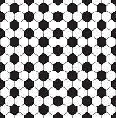 Seamless football theme pattern background