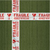 Seamless cardboard and tape background. Repeating pattern (image tiles horizontally and vertically). Layered EPS10 with global colors and transparencies. Individual textures and elements. Hi-res JPG and AICS3 files included. Related images linked below. http://i161.photobucket.com/albums/t234/lolon5/packagingelements_zps82cd4008.jpg