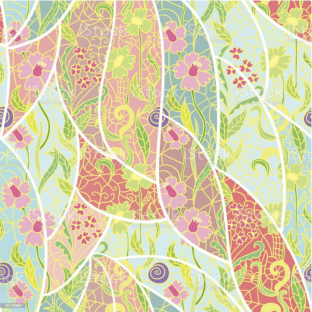 Seamless fresh vector pattern. royalty-free stock vector art