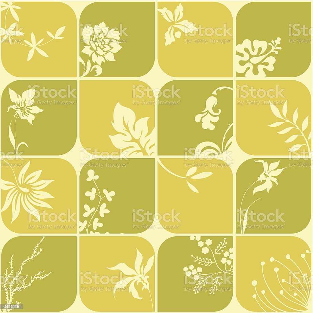 Seamless funky background royalty-free stock vector art
