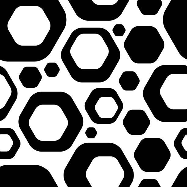 Nahtloser futuristische Hintergrund – Vektorgrafik