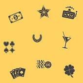 Seamless Gambling Pattern