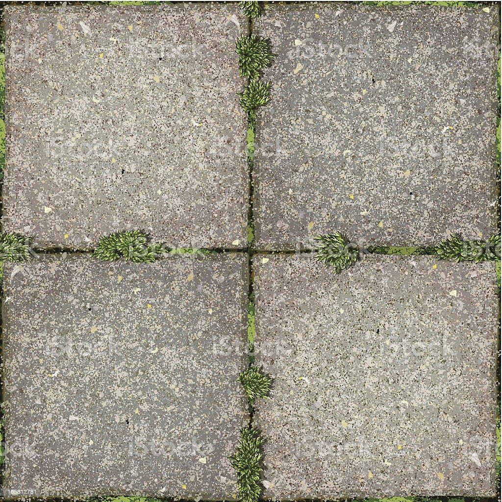 seamless garden tiles with moss background royalty free seamless garden tiles with moss background stock - Garden Tiles