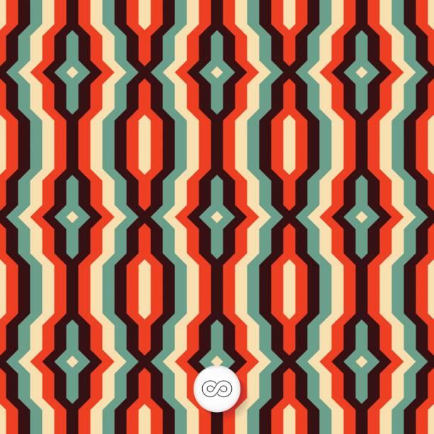 Seamless geometric background. Mosaic. Abstract vector Illustration. vector art illustration
