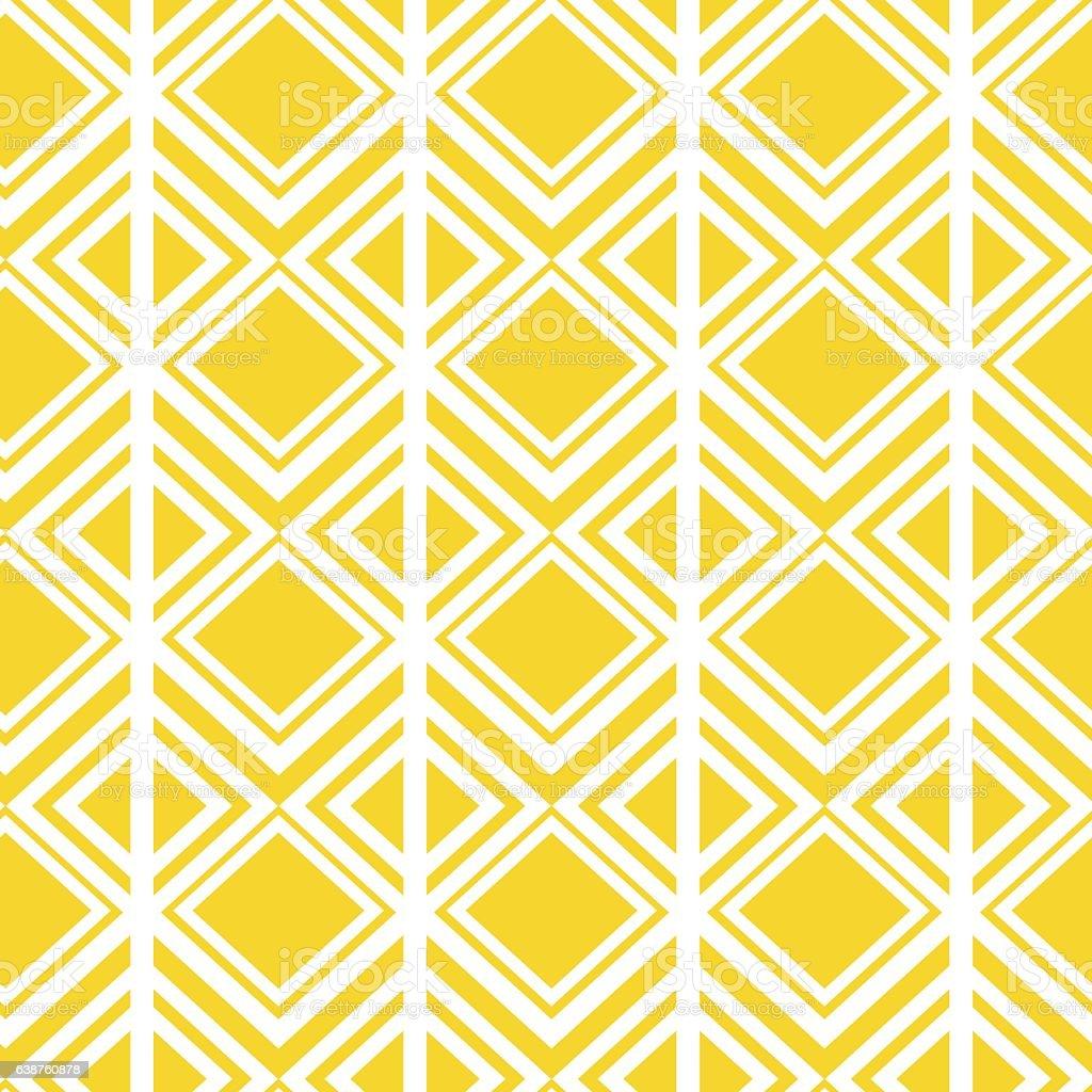 seamless geometric background pattern yellow with diamond