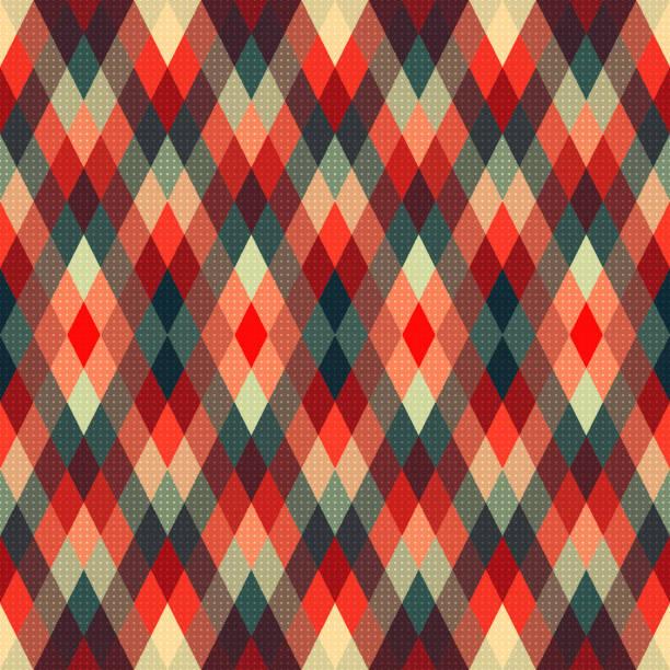 Nahtloser geometrischen Hintergrund – Vektorgrafik
