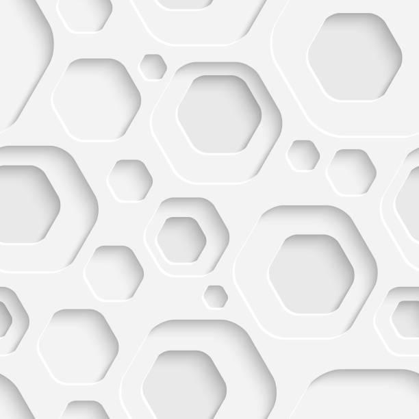 Nahtloser geometrischer Hintergrund – Vektorgrafik