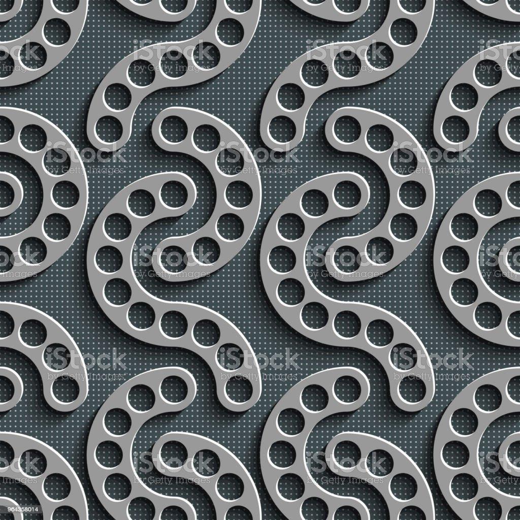 Sem costura fundo geométrico - Vetor de Abstrato royalty-free