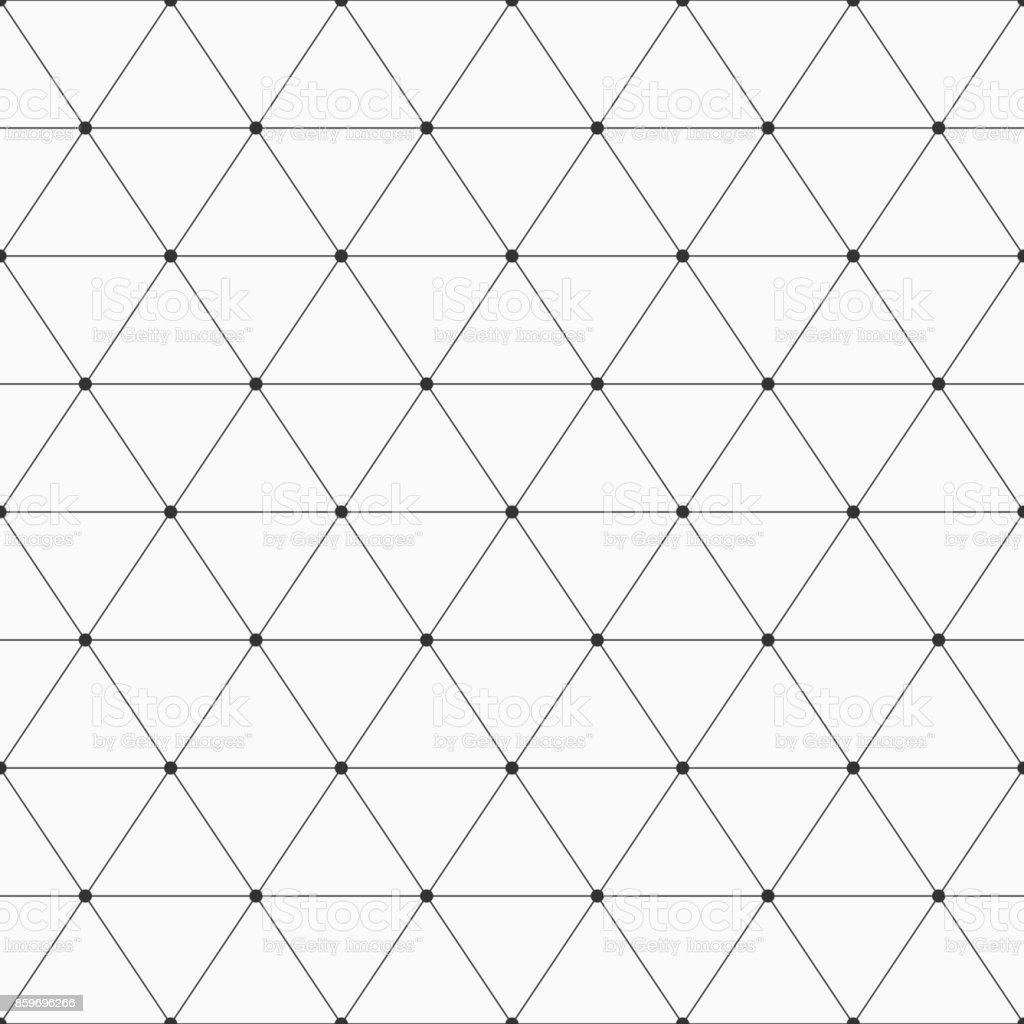 Nahtloser geometrischen Hintergrund mit Dreiecken. Lizenzfreies nahtloser geometrischen hintergrund mit dreiecken stock vektor art und mehr bilder von abstrakt