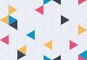 Geometric seamless grid background pattern.