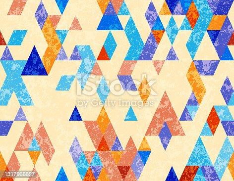 istock seamless  geometric  grunge  pattern 1317966627