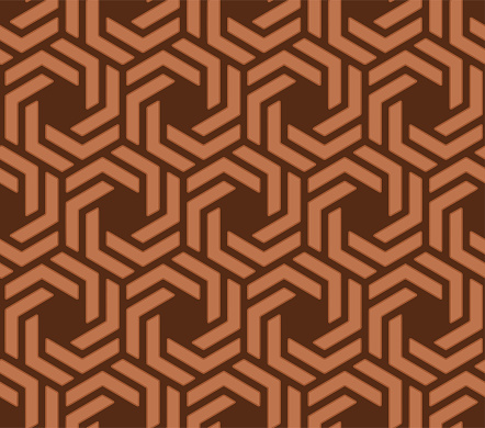 seamless geometric mold texture pattern vector for decoration.