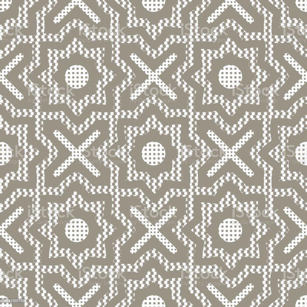 seamless geometric ornament 免版稅 seamless geometric ornament 向量插圖及更多 俄羅斯 圖片