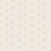 Seamless geometric pattern based on Japanese ornament Kumiko