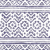 Seamless geometric pattern. Ethnic and tribal motifs.