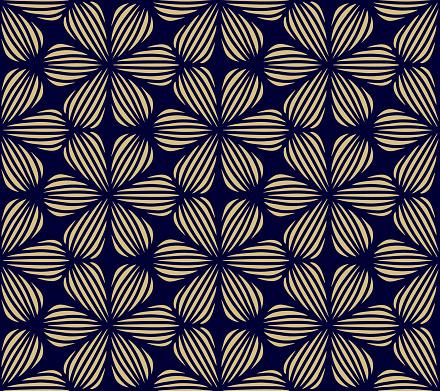 Seamless Geometric Pattern - Hand Drawn