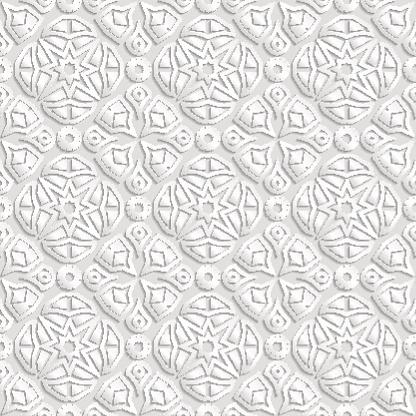 Seamless geometric  pattern, indian ornament