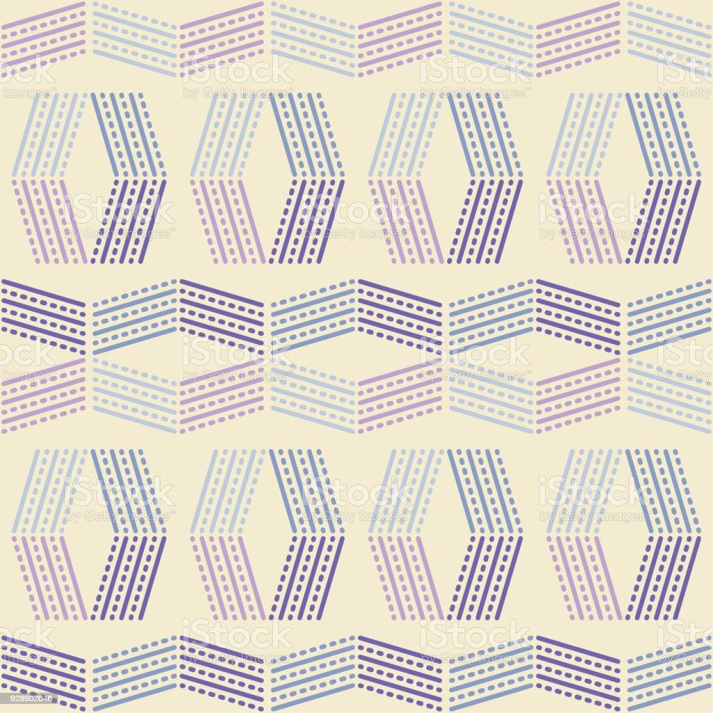 Ilustración de Sin Fisuras Patrón Geométrico Textura De Rayas Y ...