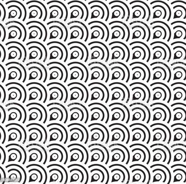 완벽 한 기하학적 패턴입니다 클래식 반복 벡터 개요 0명에 대한 스톡 벡터 아트 및 기타 이미지