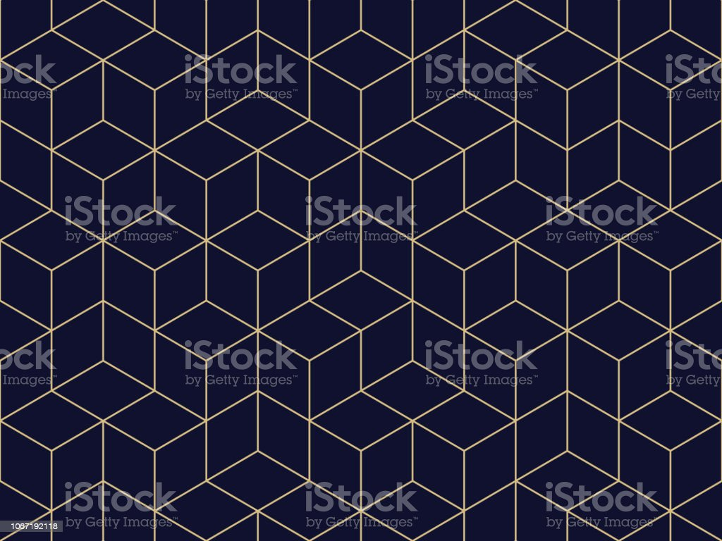 Seamless Geometric Pattern - Royalty-free Abstrato arte vetorial