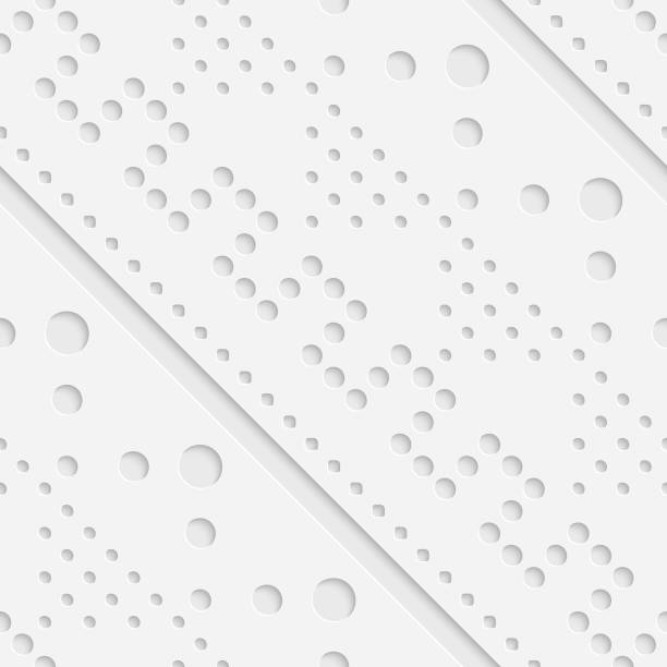 Nahtloses geometrisches Muster – Vektorgrafik
