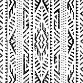 istock Seamless geometric pattern. 1225775007