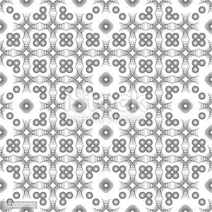 istock Seamless geometric pattern 1310035032