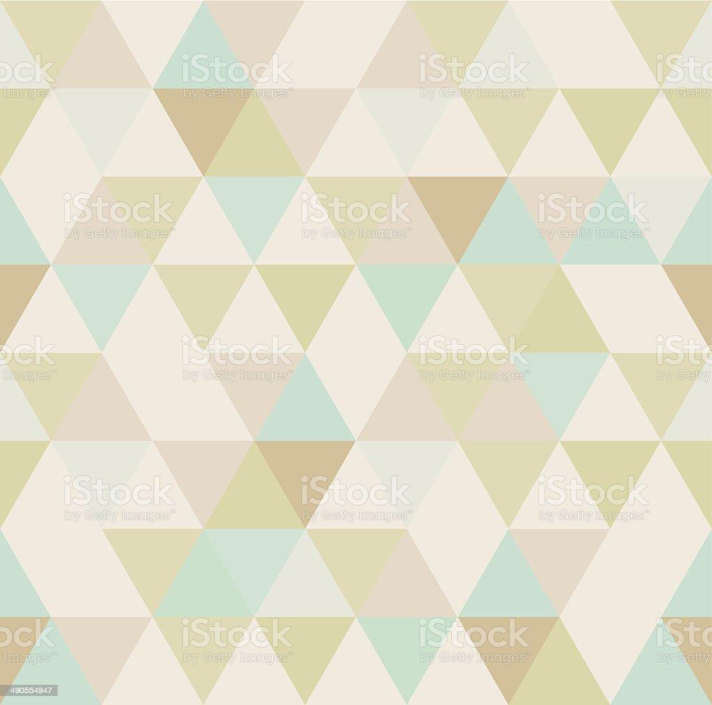 Sem costura padrão geométrico - ilustração de arte em vetor