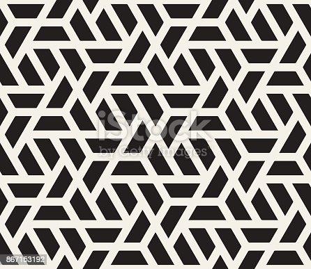 istock Seamless Geometric Pattern 867153192