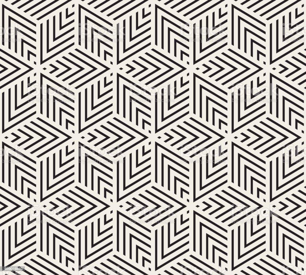 Seamless Geometric Pattern - Royalty-free Abstrato arte vetorial
