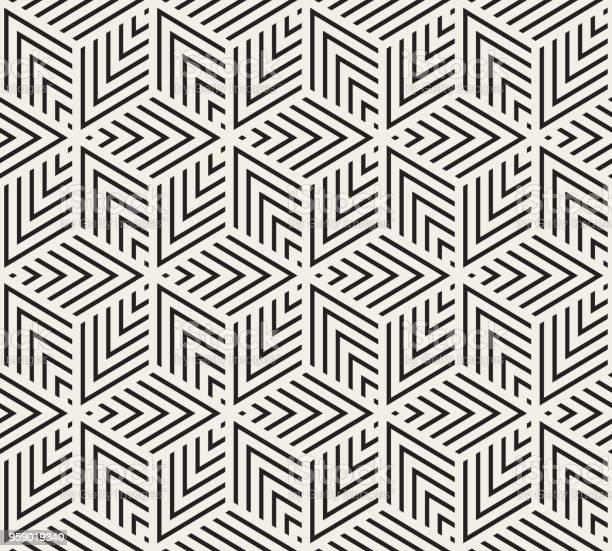 Seamless Geometric Pattern - Arte vetorial de stock e mais imagens de Abstrato