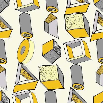 매끄러운 기하학적 패턴 1980-1989 년에 대한 스톡 벡터 아트 및 기타 이미지