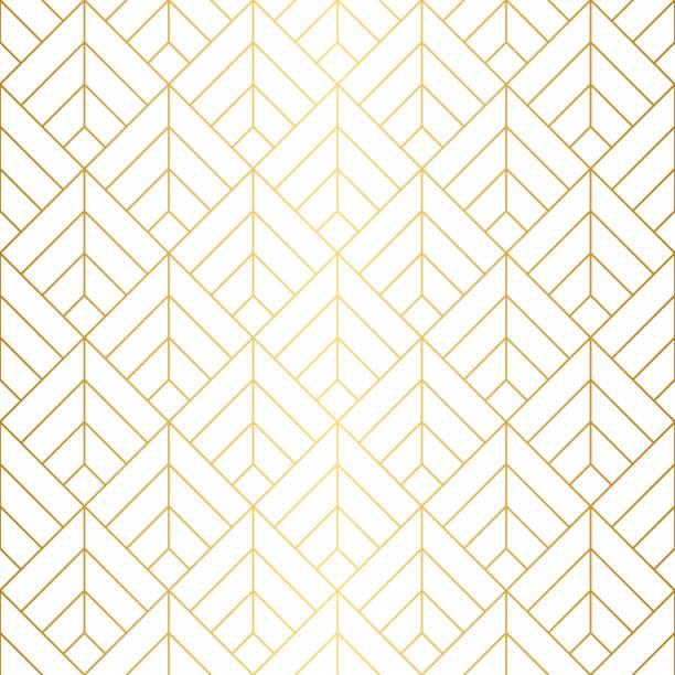 bildbanksillustrationer, clip art samt tecknat material och ikoner med sömlösa geometriska fyr kanter mönster. - luxury