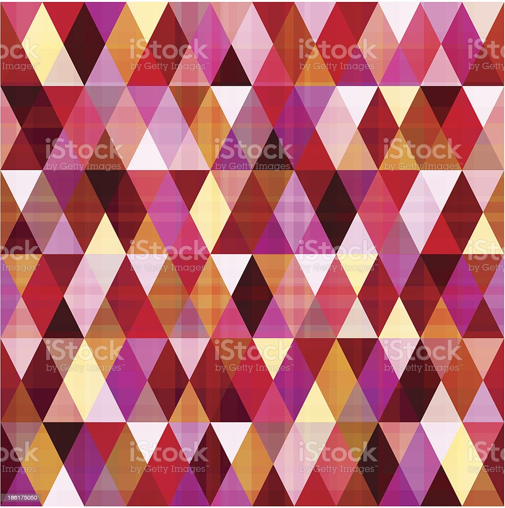 seamless geometric triangle pattern royalty-free stock vector art