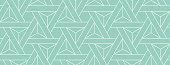 istock Seamless Geometric Vector Pattern 1261672788