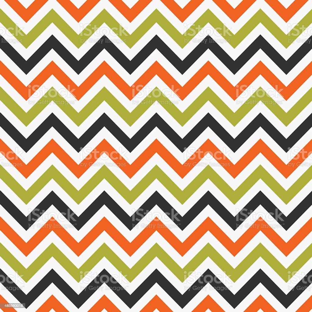 Seamless geometric zigzag pattern vector art illustration