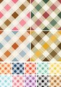 Seamless Gingham Patterns