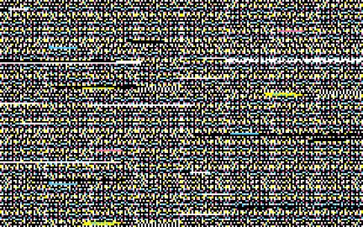 Seamless Glitch Background Pattern