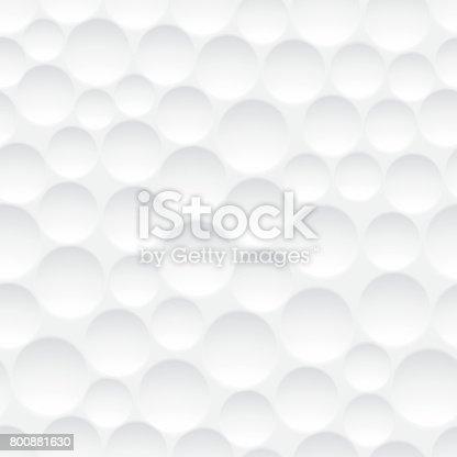 istock Seamless golf ball pattern 800881630
