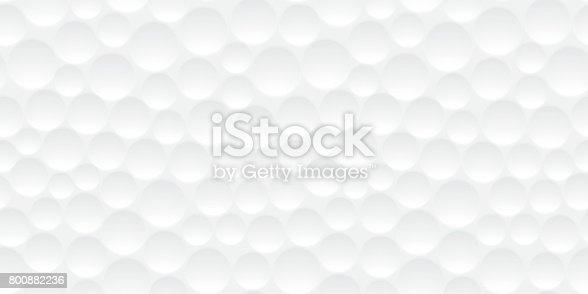 Bola de golfe sem costura padrão de