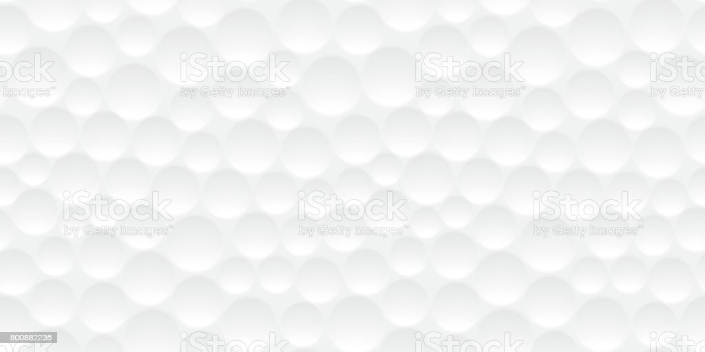 Seamless golf ball pattern vector art illustration
