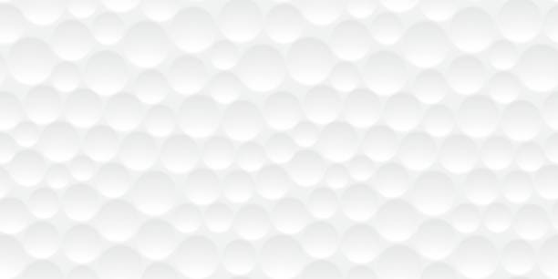 Seamless golf ball pattern Seamless textured golf ball dimple wallpaper pattern background design golf ball stock illustrations